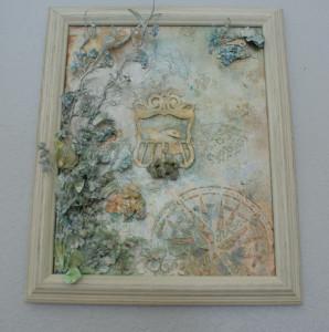 original wall art mixed media