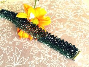 Blue Jean Swarovski Crystal Bracelet